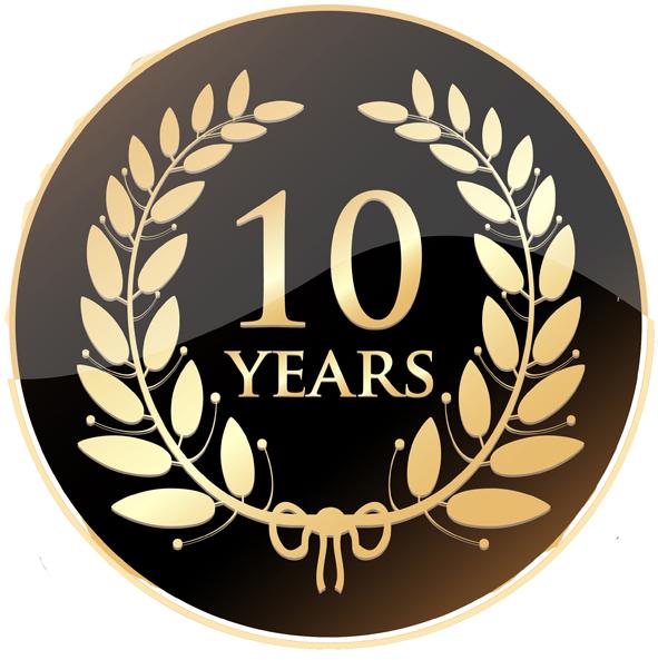 10 jaar jubileum Aqua Assistance 10 jaar actief als vakspecialist  10 jaar jubileum