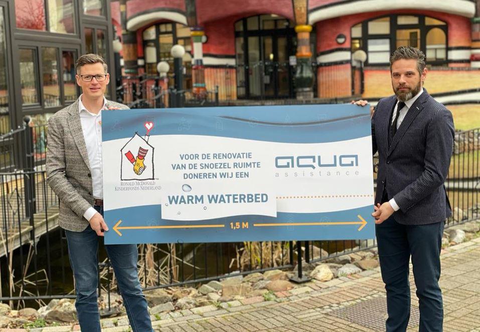 Aqua Assistance Ronald McDonald fonds